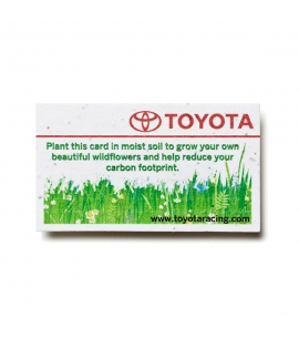 plantable business card seed paper business card