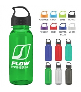 18 oz Tritan™ Water Bottle | USA Made | Crest Lid