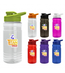 Digital 20 Oz. Tritan Sports Bottle - Snap Lid