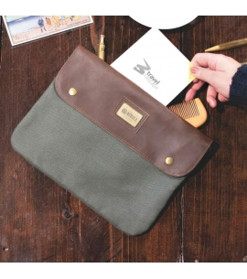 Two Pocket Travel Pismo Pouch   Custom