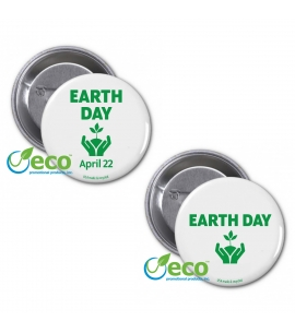 Earth Day 2017 | USA Made Recycled Buttons
