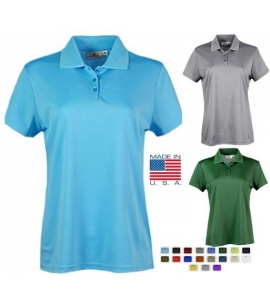 Women's USA made polo