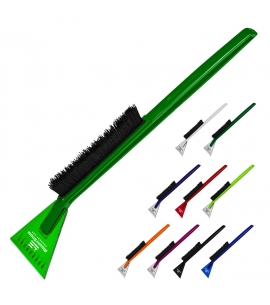 USA Made Recycled Deluxe Ice Scrapers Snowbrush