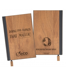 USA Made Sustainable Wood Eco Friendly Journal