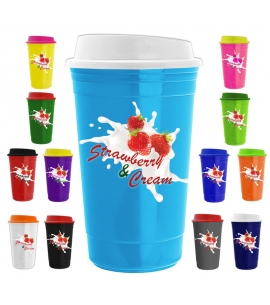 USA made reusable recyclable customizable travel mug