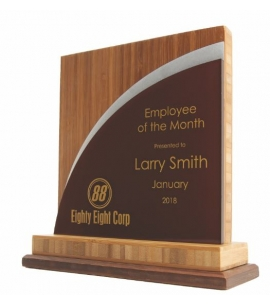 USA made wood award eco friendly awards