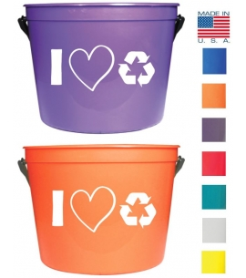 America Recycles Day Personal Recycle Bin
