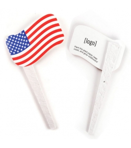 Plantable Flag Growstakes | USA Made | Recycled