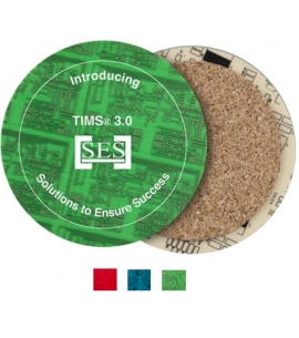 USA made recycled circuit board coaster