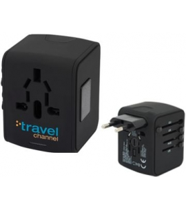 Custom Travel 4 USB Port Adapter