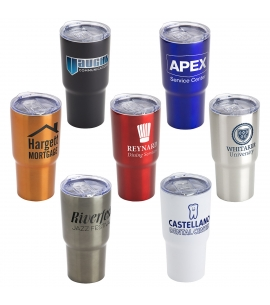 Vacuum Insulated Stainless Steel Travel Tumbler | 20 oz Custom Tumblers