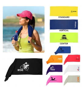cooling towel reusable eco friendly promo