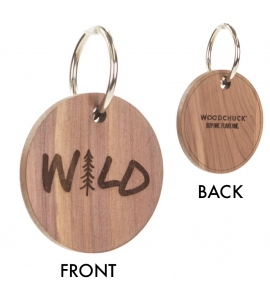 Woodchuck USA made custom Keychain