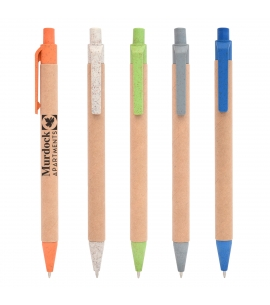 Wheat Straw Clicker Pen Promotional Wheat Straw Pen