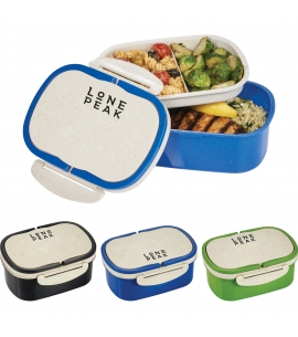 Wheat Straw Lunch Box Container | Reusable