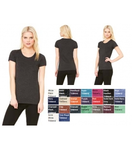 Women's Triblend Short Sleeve T-Shirt | WRAP Certified