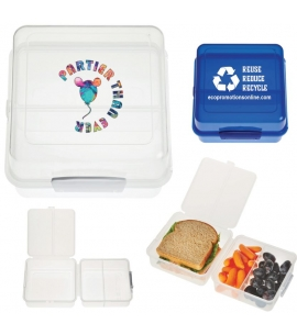 Branded eco friendly BPA free lunch container