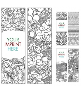 Colorable Bookmarks Coloring In Bookmarks