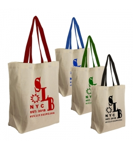 Cotton Grocery Tote | 4 oz | 14x10x5