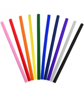 Reusable Silicone Straight Straws | Eco Promotional Product