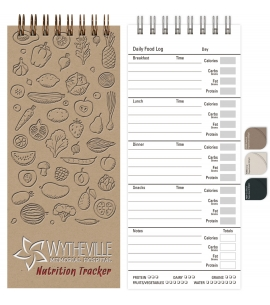 Eco Mini Nutrition Tracker Notebook