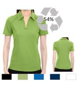 Ladies Recycled Polyester Performance Polo | Embroidered