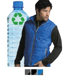 Custom Embroidered Recycled Quilted Vest