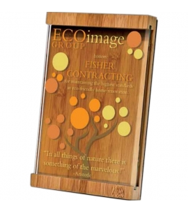 Award Plaques | Bamboo | Jade Glass | Digital Color