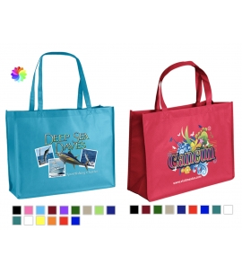 Full color Recycled tote bag