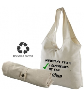 Recycled Custom Eco Enviro Sack Tote Bag