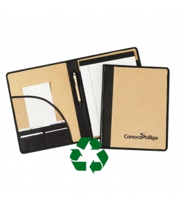 Recycled Padfolio with Refillable Recycled Paper | logoed