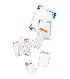 Recycled scratchpad, recycled notepads, recycled promotional product, custom notepads