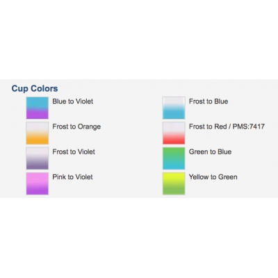 Stadium Cups | Color Changing | USA Made | 16 oz colors