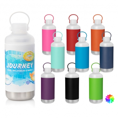 16.9 oz h2go Scout - Powder Coated Full Color Custom Water Bottle
