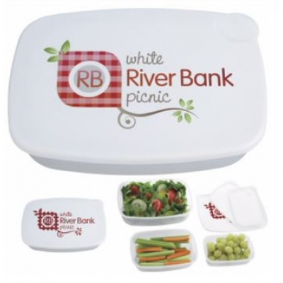 compartment lunch box reusable branded lunch container promotional lunch container