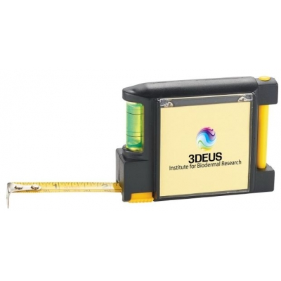 3 in 1 Tape Measure with Pen and Level   Multi-Functional