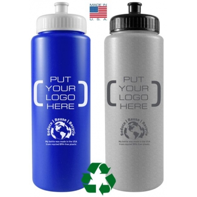 Recycled Awareness Bottle Recycled Water Bottle