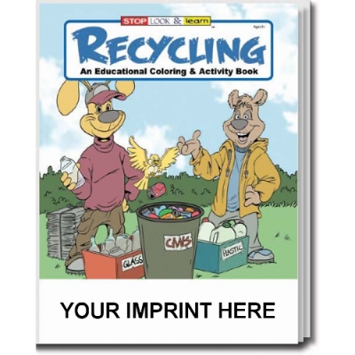 America Recycles Day USA Made Recycling Activity Book