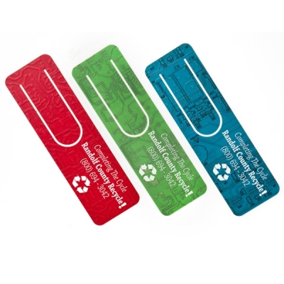 America Recycles Day Recycled Circuit Board Bookmark