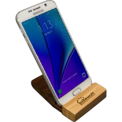 Desktop Phone Holder Bamboo Cell Phone Holder