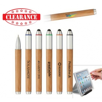 bamboo pen stylus stylus pen corporate gifts imprinted stylus tradeshow giveaway wholesale stylus