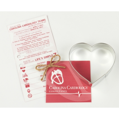 USA Made Cookie Cutter with Recipe Card