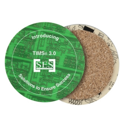 Recycled Circuit Board Coasters   Eco Promotional Products