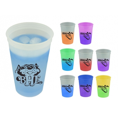 Stadium Cups   Color Changing   USA Made