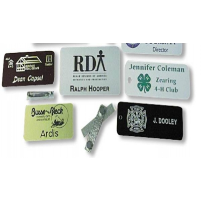 Custom Name Badges - USA Made Aluminum