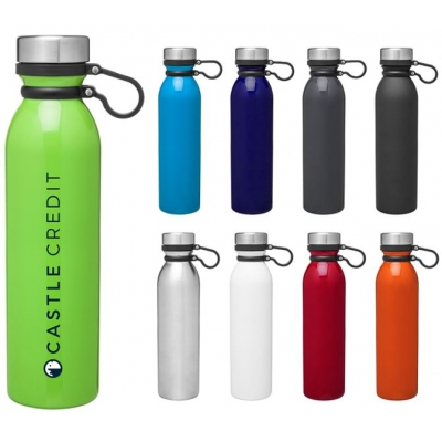 double wall stainless steel thermal bottle with copper vacuum insulation 25 oz