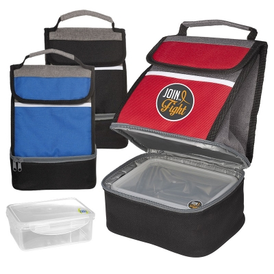 Lunch bag with Removable Food Storage Container | Reusable