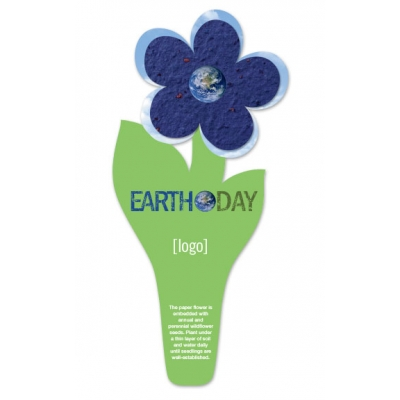 Earth Day Plantable Flower Bookmark | USA Made
