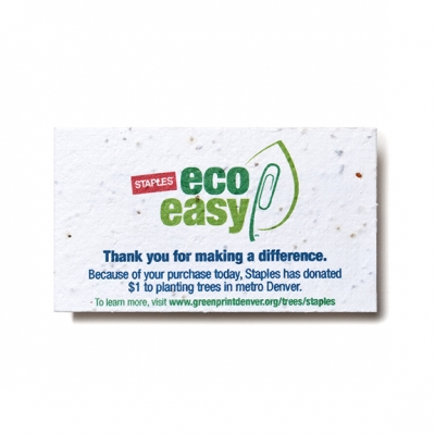 Plantable Business Cards | USA Made | Recycled
