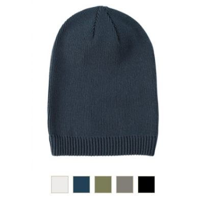 100% Certified Organic Slouch Beanie Hat